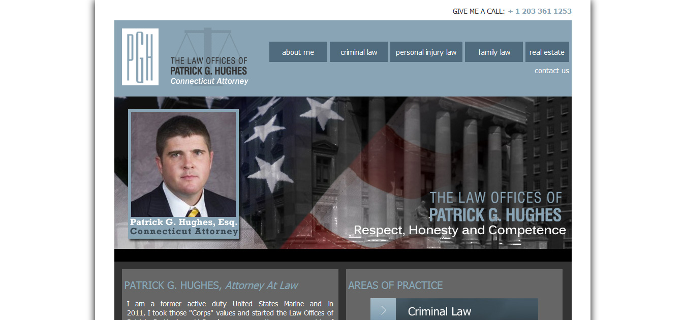Patrick Hughes Esq., New Haven CT