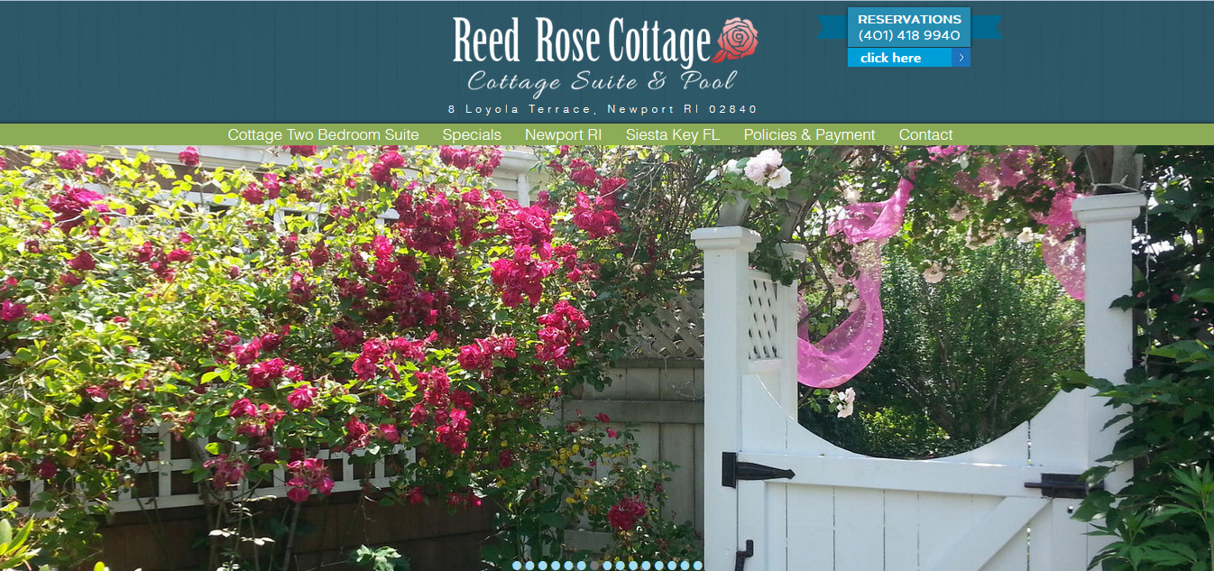 Reed Rose Cottage, Newport RI