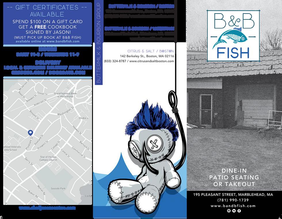 B&B Fish Menu