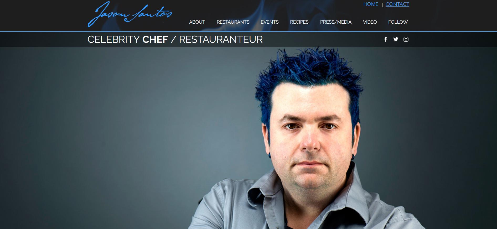 Celebrity Chef Jason Santos
