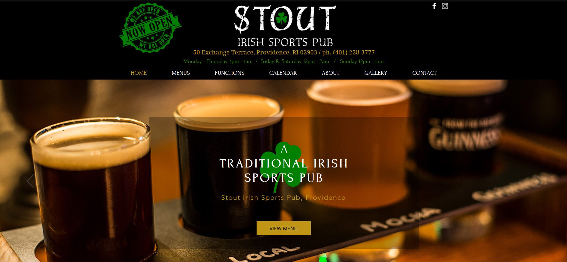 Stout Irish Sports Pub, Providence