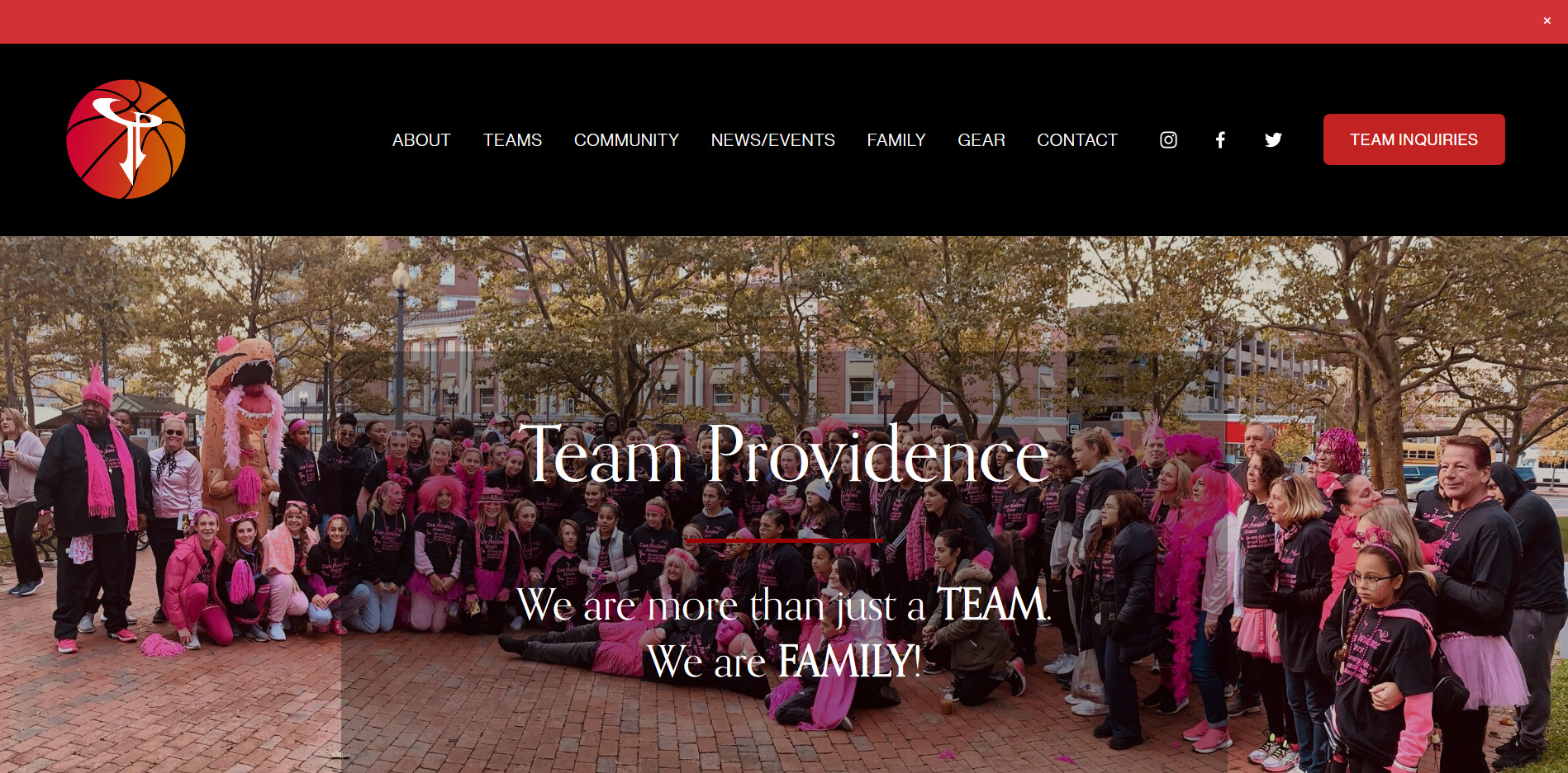 Team Providence Athletics