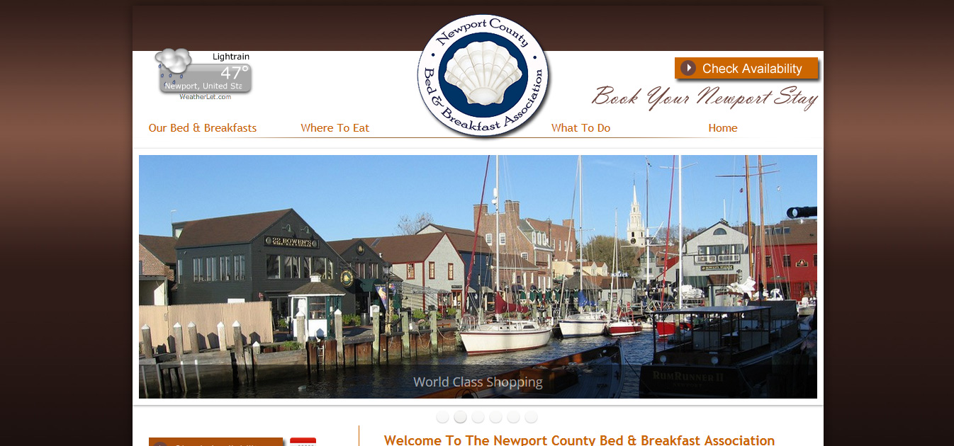 Newport County Bed & Breakfast Assoc