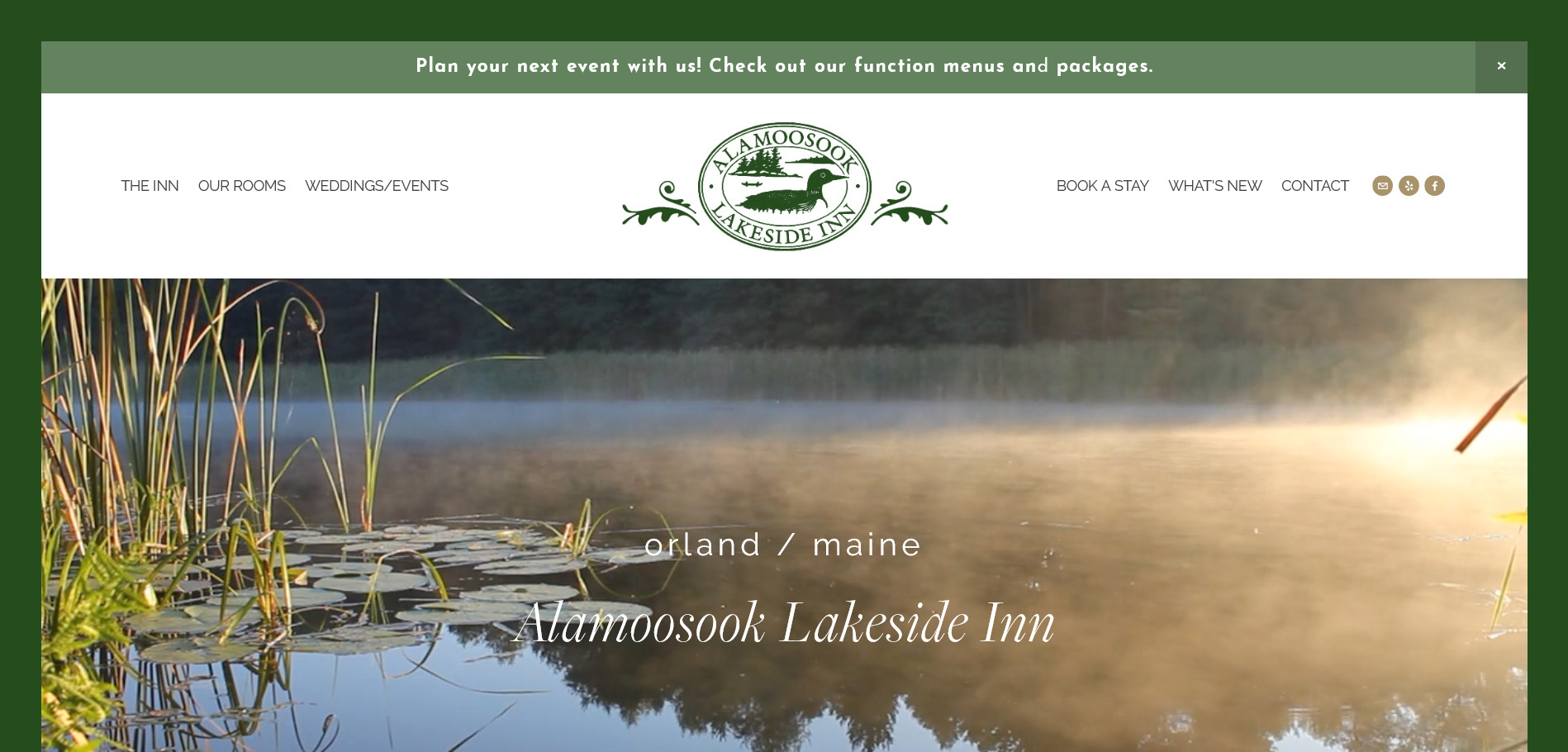 Alamoosook Lakeside Inn