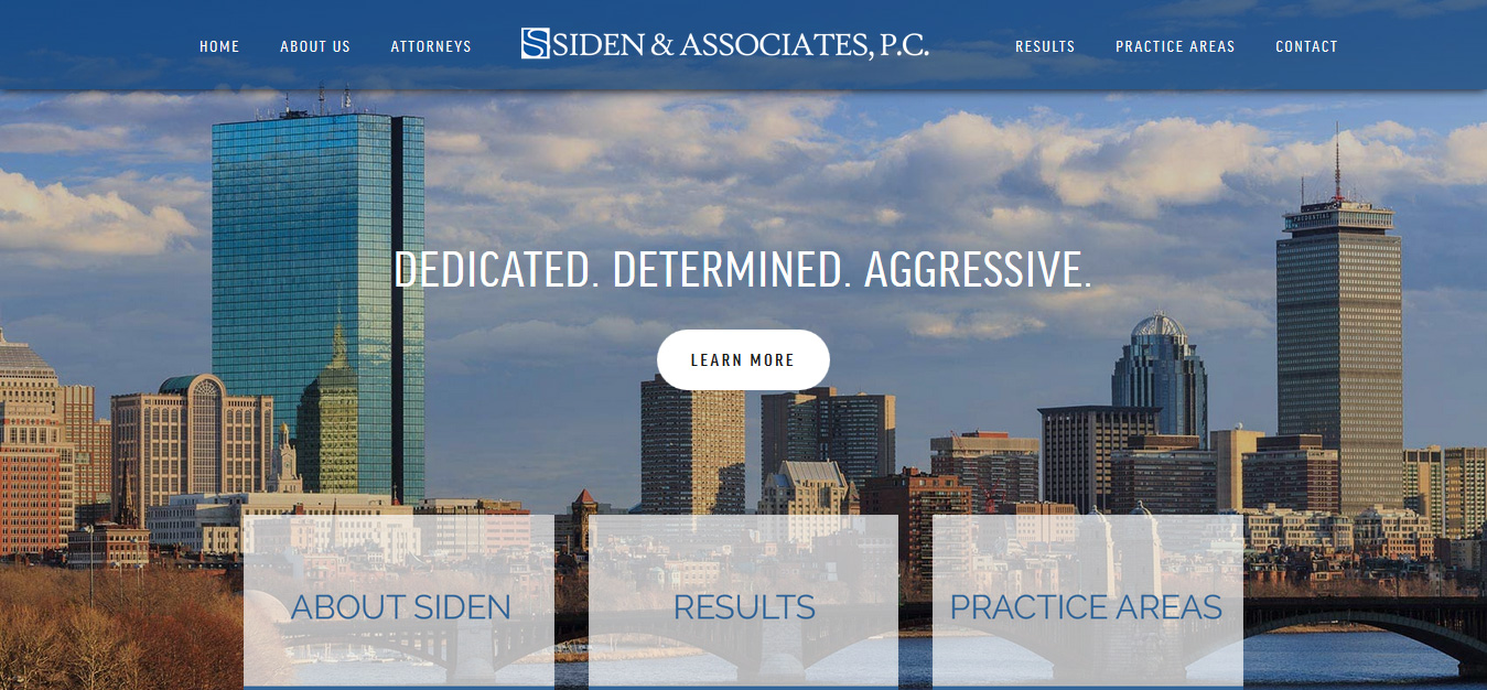Siden & Associates, P.C.  Boston, MA