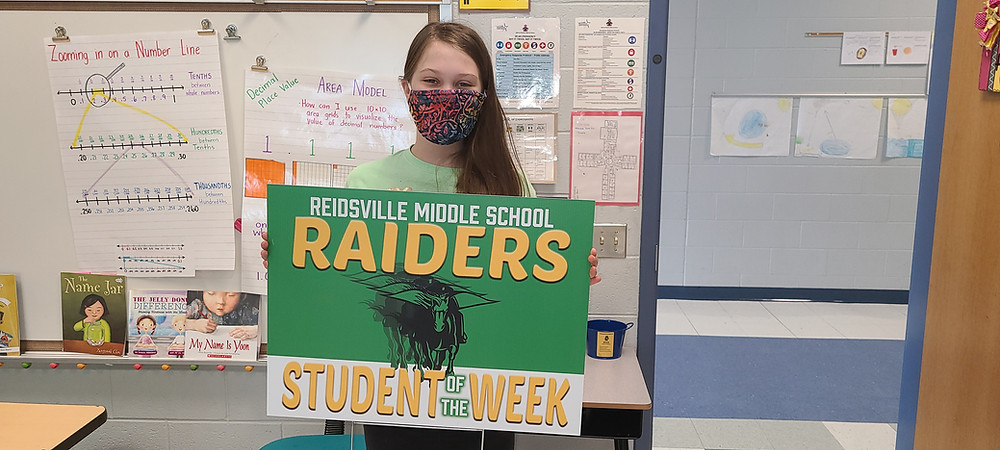 RMS Student of the Week