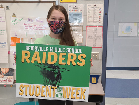 3/10/2021 - RMS Student of the Week