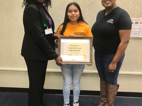 REIDSVILLE MIDDLE SCHOOL STUDENT AWARDED $20,000 SCHOLARSHIP FOR COLLEGE