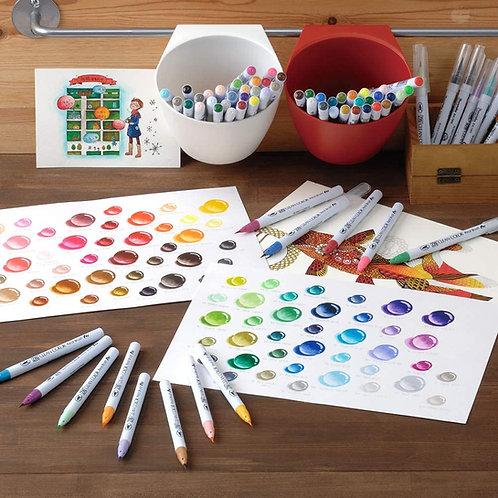 ZIG Clean Color Real Brush set       日本吳竹牌水彩毛 筆套裝