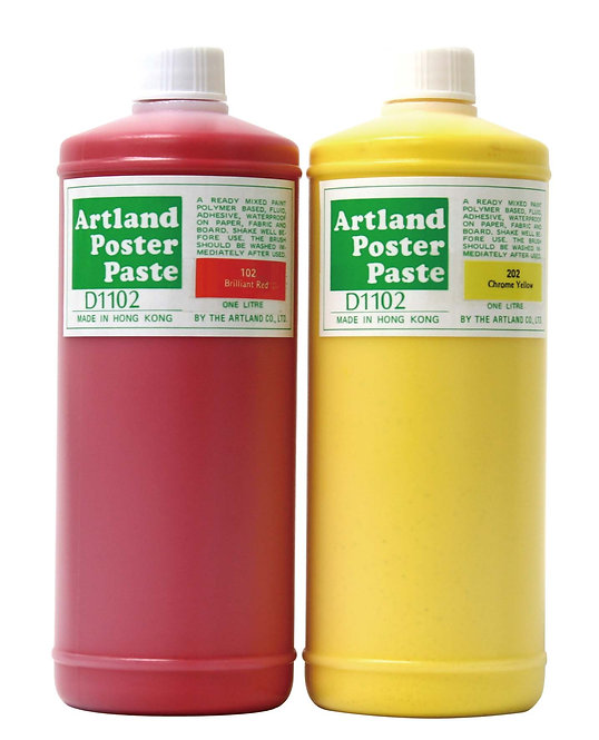 Artland's Poster Paste   1000ml/bottle-藝林防水廣告顏色,1L