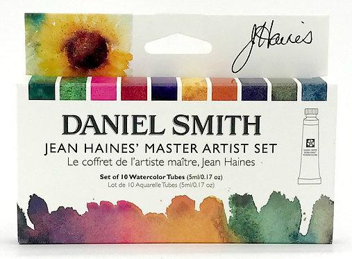 Daniel Smith-Jean Haines Master Art Watercolors Set       丹尼爾史密斯-海恩斯大師级水彩