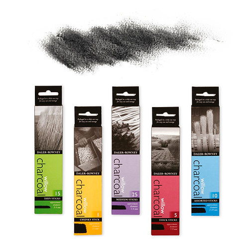 Daler Rowney Willow Charcoal     威美牌木炭枝