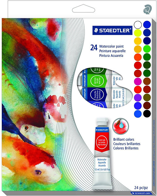 Staedtler Watercolour Paint Set        施德樓水彩套裝