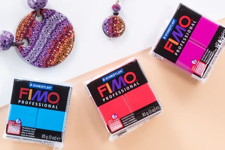 Staedtler Fimo Professional Clay (Coloured)                    專門顏色低溫泥-軟