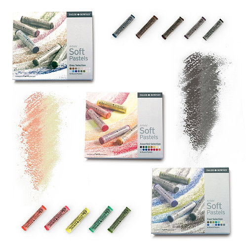 Daler-Rowney Artists' Soft Pastel set  威美專家乾粉彩套裝