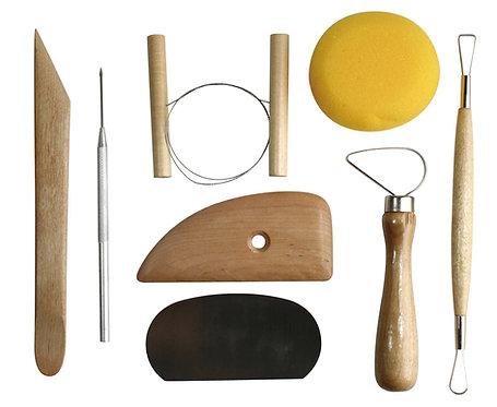 Pottery Tools Kit Set            陶瓷工具套裝