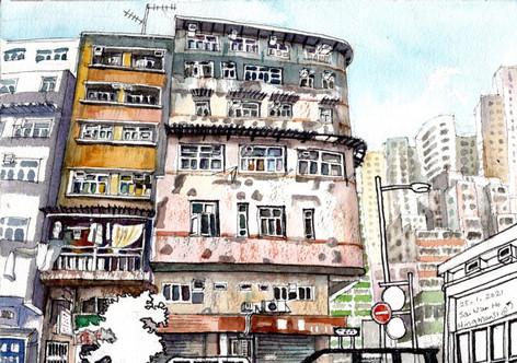 Hing Man Street at Sai Wan Ho