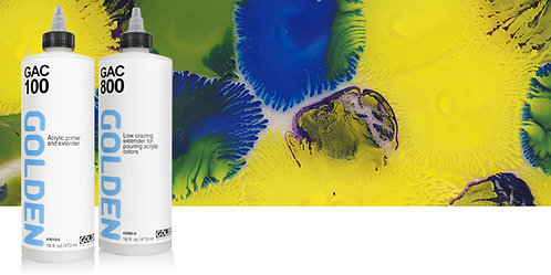 Golden Acrylic Polymers-高登塑膠彩加調劑
