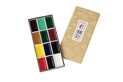 Gansai Japanese Antique  Colours       日本國畫顏色