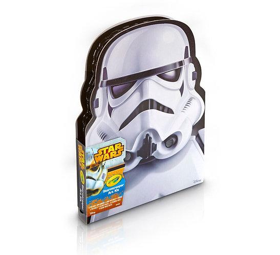 Crayola Star Wars Edition -Stormtrooper Art Case     千色樂星球大戰系列填色簿+筆套裝