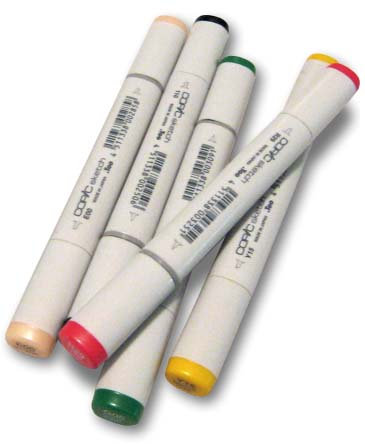 COPIC Sketch Marker Set   日本 Copic 顏色麥克筆套裝