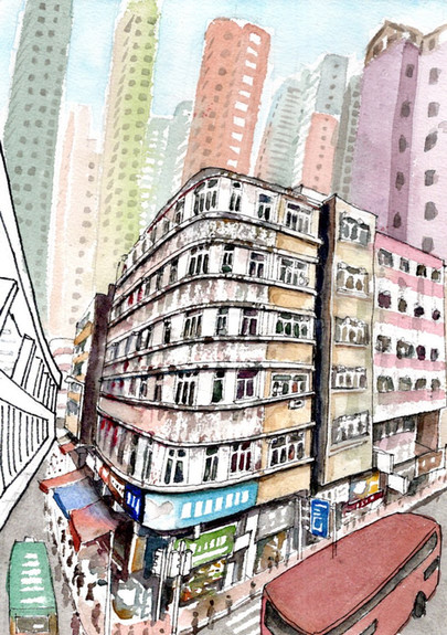 Shau Kei Wan Road at Sai Wan Ho