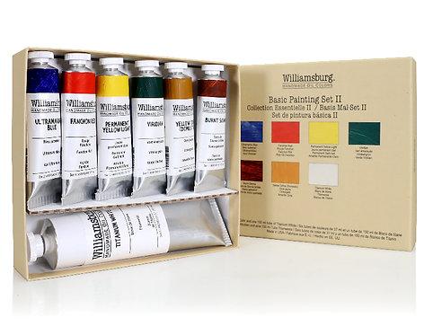 Williamsburg Basic Painting Oil Set II    7 x 37ml