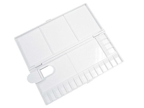 Holbein Plastic Folding Watercolor Box-size   可摺式塑膠調色盒不同尺寸
