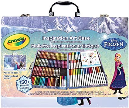 Frozen -- Crayola Inspiration Art Case 150pcs, 千色樂兒童畫筆套裝