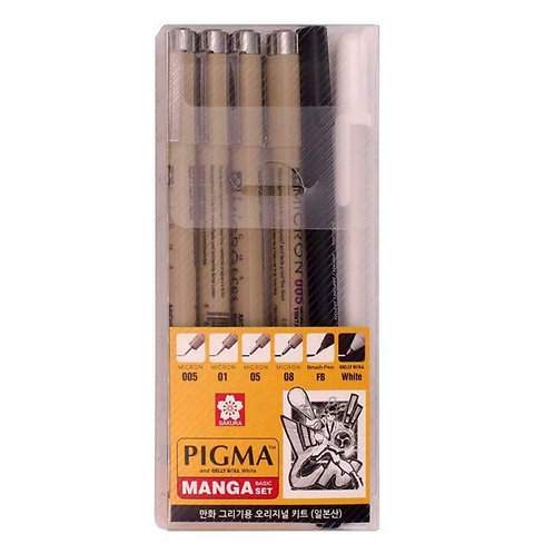 Sakura Pigma Micron Pens   漫畫針筆