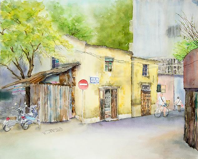 Rua da Pedra, Macau / 澳門石街