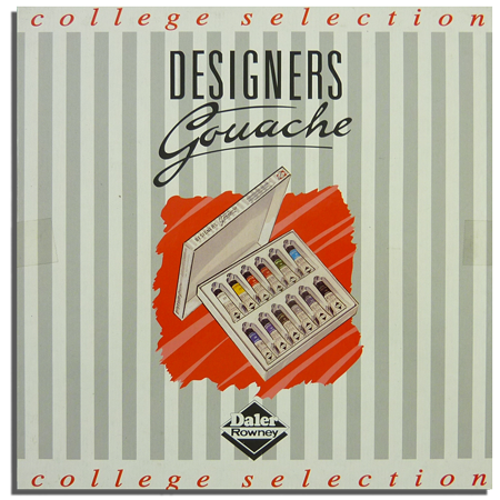 Rowney Designers Gouache College Set 15mlx12col-威美設計師水粉彩套裝 12色x15ml