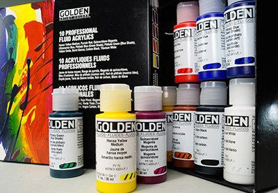 Golden Fluid Acrylic Color Series 6-高登瓶裝流質丙稀顏色系列6