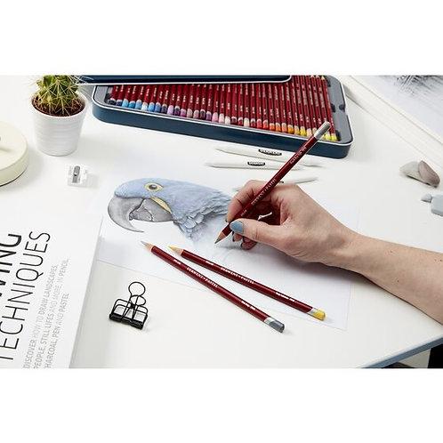 Derwent Pastel Pencil  in Tin       黛文粉彩木顏色金屬盒套裝