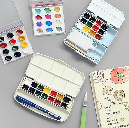 ZIG Transparent Watercolor Sets              日本吳竹牌透明水彩套裝