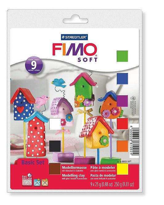 Staedtler Fimo Soft Modelling Clay Basic Set                    顏色低溫軟泥套裝