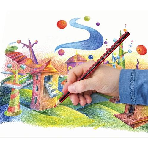 Staedtler Noris Club 12 Color Pencils Set   施德樓木顏色12色 套裝