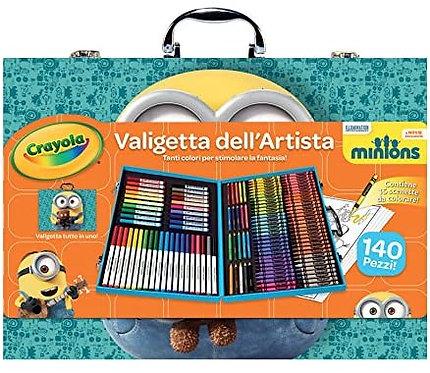 Minions -- Crayola Inspiration Art Case 140pcs, 千色樂兒童畫筆套裝