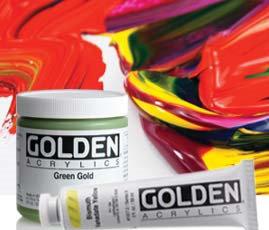 Golden Heavy Body Acrylic Color Series 9-高登管裝濃度丙稀彩系列9