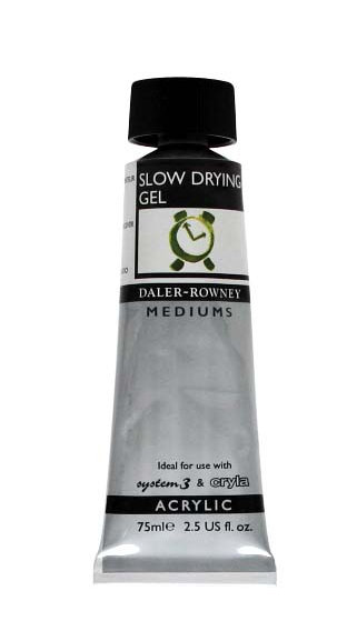 Rowney Slow Drying Gel   75ml.(Retarder-威美慢干遮喱膏 75ml