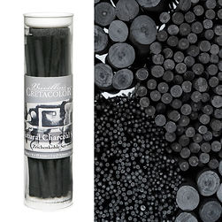 Natural Charcoal set 13pieses 493-99_Zei