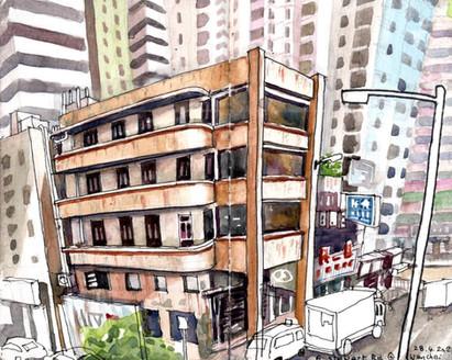 A corner tenement