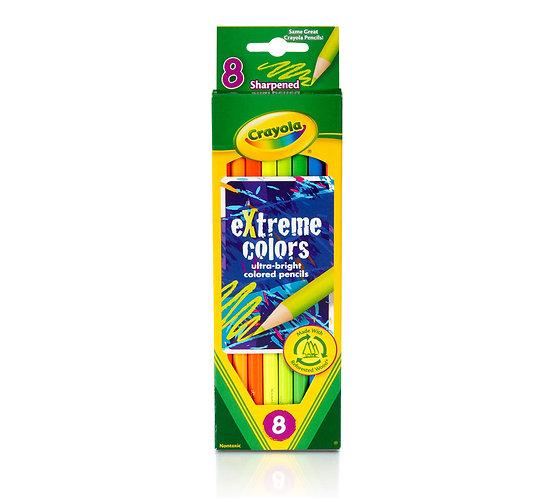 Crayola Drawing Pencil  8 Colors set  千色樂8支裝木顏色筆套裝系列