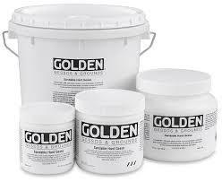 Golden Gesso-Bright White Acrylic Primer 高登塑膠彩白底色
