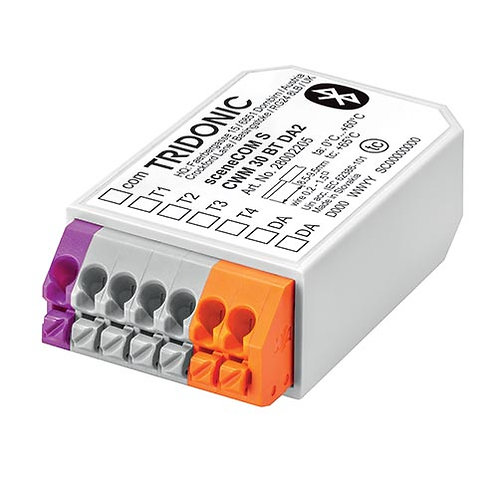 Tridonic DALI Bluetooth controller   sceneCOM S CWM 30 BT DA2