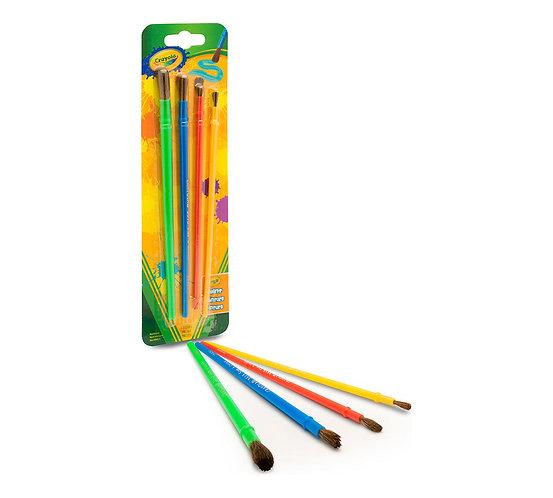 Crayola Art & Craft Brush Set for Kids  千色樂兒童畫筆套裝
