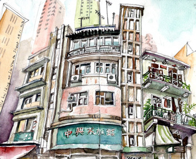 An old building at Sai Wan Ho