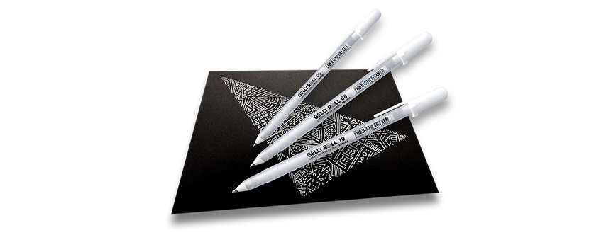 Sakura Gel Ink Pen Set   白色啫哩筆套裝