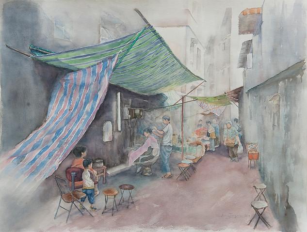 Travessa da Porta, Macau / 澳門趙家巷