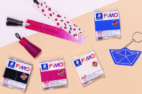 Staedtler Fimo Leather Effect Modelling Clay                          顏色低溫泥皮革效果
